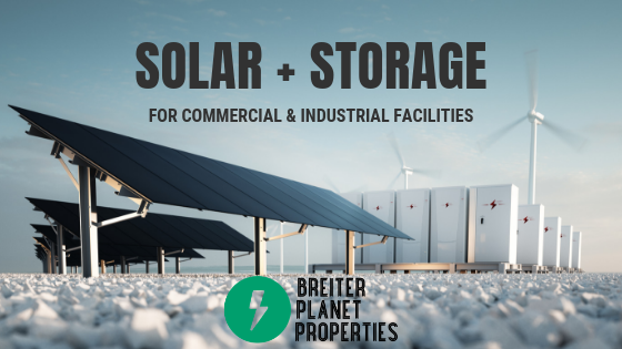 Solar + Storage for C&I Facilities